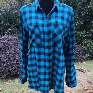 NWT! Express Flannel Checkered Shirt